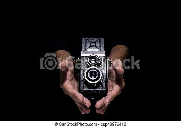 Vintage camera - csp40976412