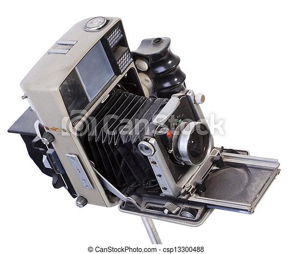 Vintage Camera - csp13300488