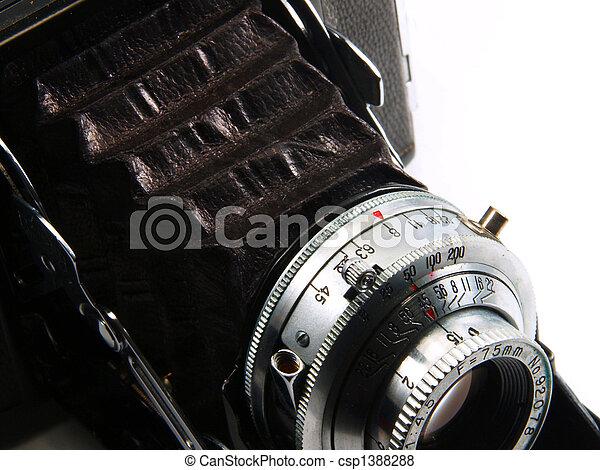 VIntage Camera - csp1388288