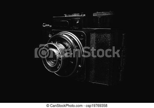 Vintage camera - csp19769358