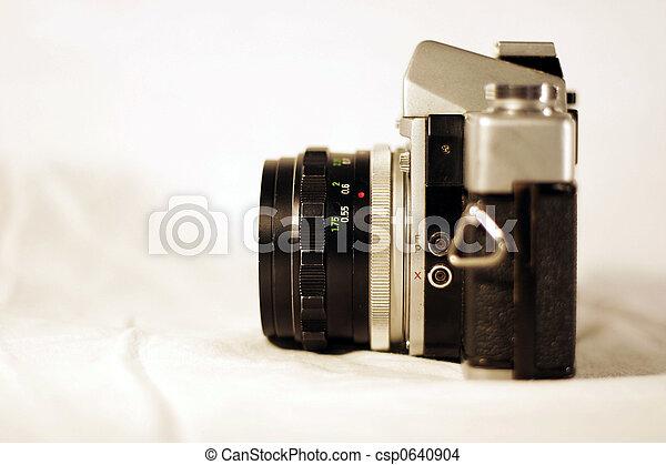Vintage camera - csp0640904