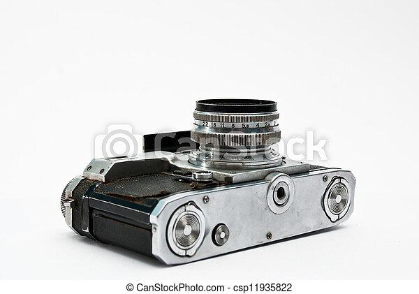Vintage camera - csp11935822