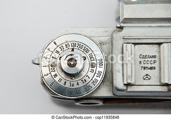 Vintage camera - csp11935848