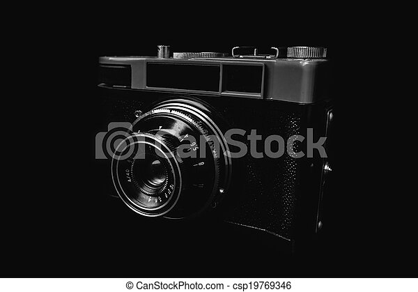 Vintage camera - csp19769346