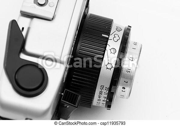 Vintage camera - csp11935793