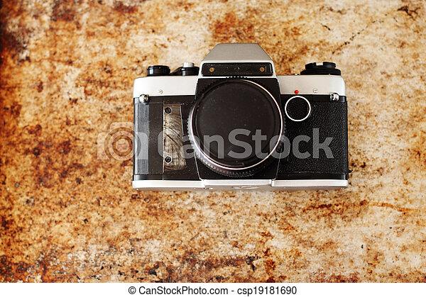 vintage camera - csp19181690