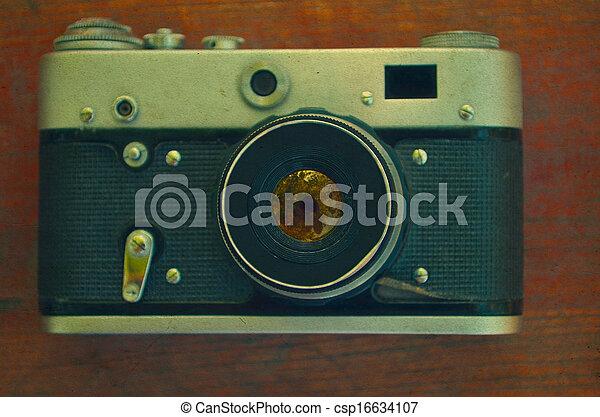 Vintage camera - csp16634107