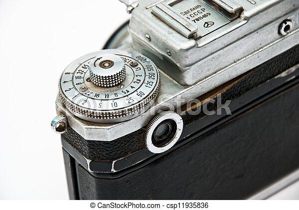 Vintage camera - csp11935836