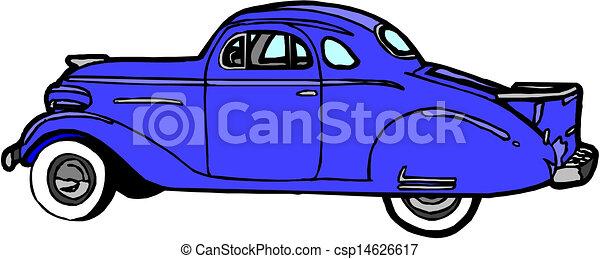 vintage car illustration vector clip art search illustration rh canstockphoto com free classic car clipart images classic car clipart free