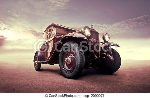 vintage car - csp12090071