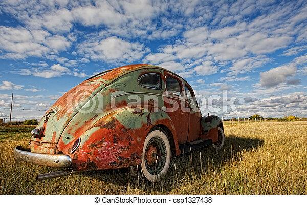 Vintage car - csp1327438