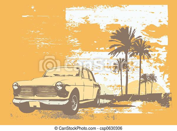 vintage car  - csp0630306