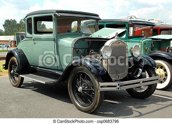 Vintage Car - csp0683796