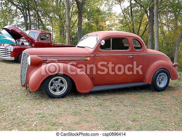 vintage car - csp0896414