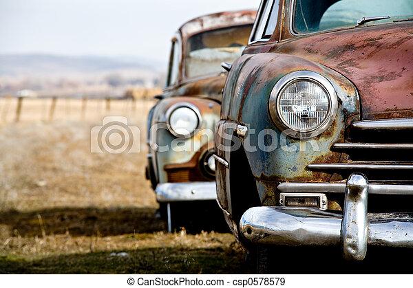 vintage car - csp0578579