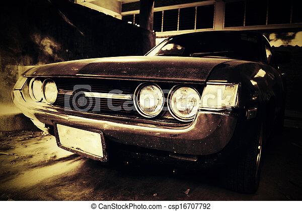 Vintage car - csp16707792