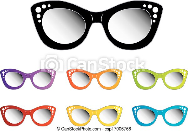 465f45cc1d60 Vintage cat eye eyewear for ladies - csp17006768