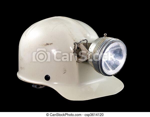 Vintage Caving Helmet - csp3614120