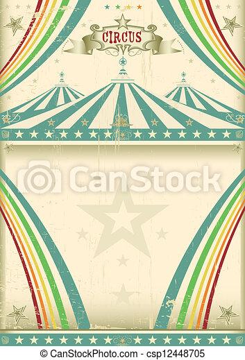 Vintage circus background - csp12448705
