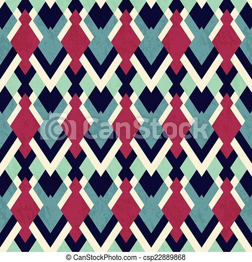 vintage cloth seamless pattern - csp22889868
