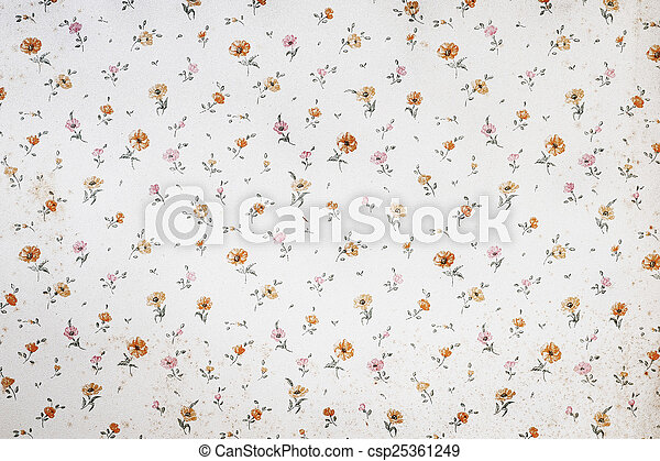 vintage decorative background - csp25361249