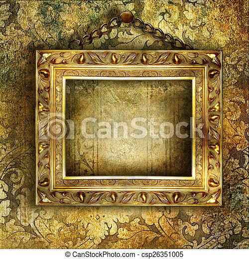 Vintage Decorative Background - csp26351005