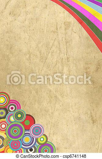 Vintage decorative paper - csp6741148