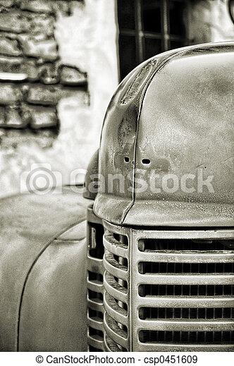 Vintage Fire Truck - csp0451609