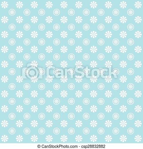 Vintage flower garden pattern background - csp28832882