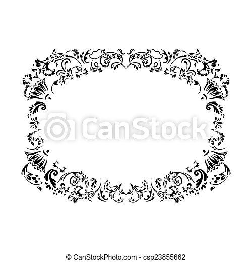Vintage frame - csp23855662