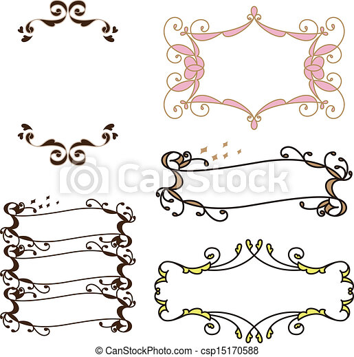 Vintage frame vector - Search Clip Art, Illustration, Drawings and ...