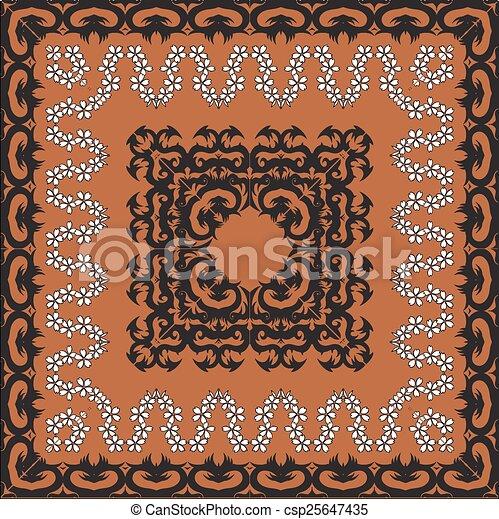 vintage frame - csp25647435