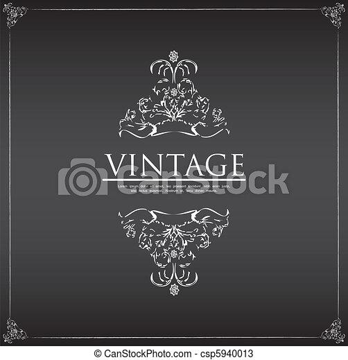 Vintage frame - csp5940013
