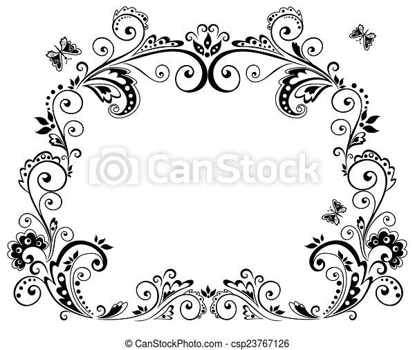 Vintage frame - csp23767126