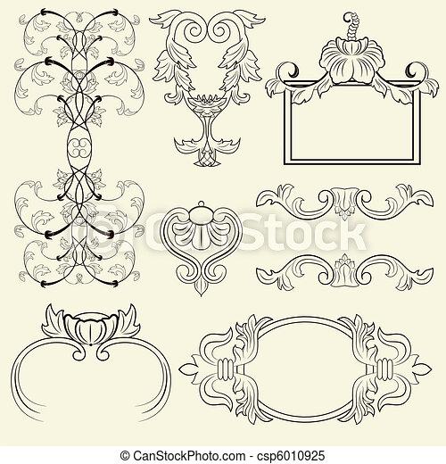 Vintage frame set - csp6010925