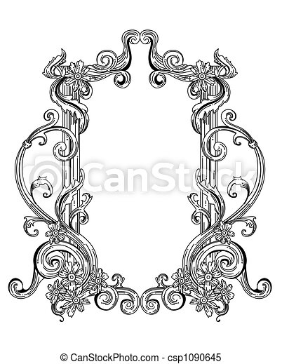 Vintage frame stock illustrations - Search Clipart, Drawings ...