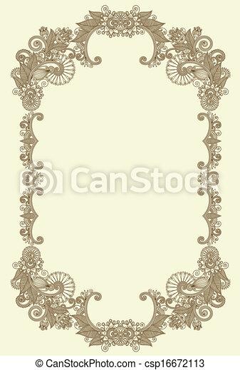 Vintage frame - csp16672113