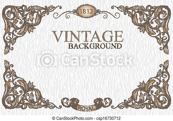 Vintage frame - csp16730712