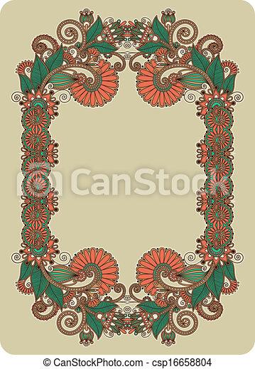 Vintage frame  - csp16658804