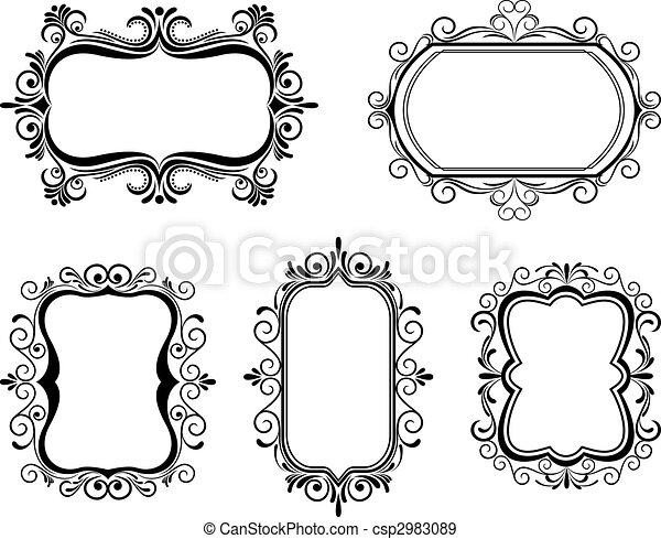 Vintage frames - csp2983089