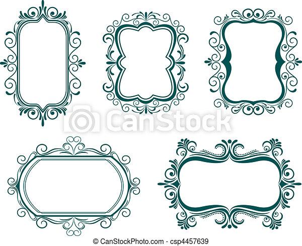 Vintage frames - csp4457639