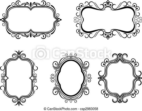 Vintage frames - csp2983058