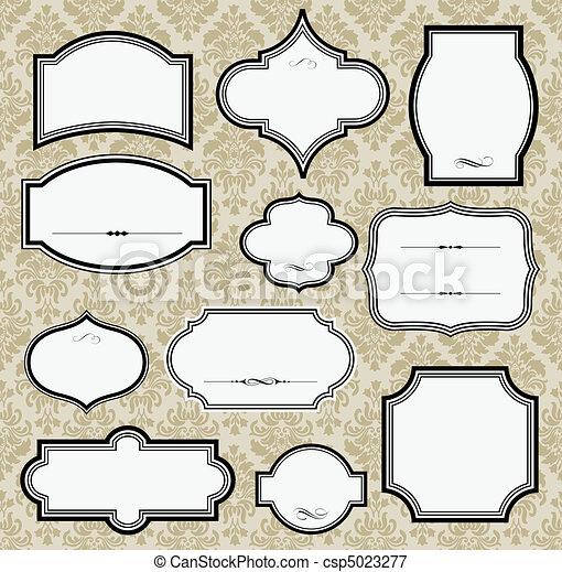 Vintage Frames - csp5023277