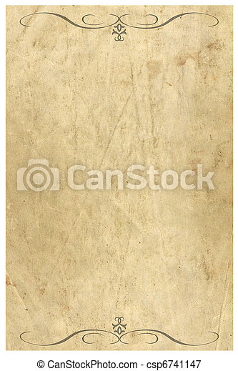 Vintage grunge paper - csp6741147