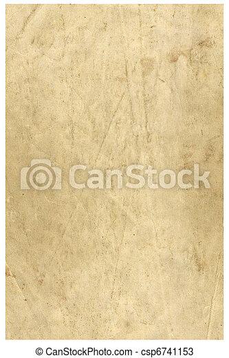 Vintage grunge paper - csp6741153