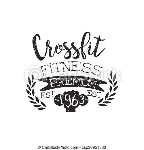 Vintage Gym Fitness Stamp Collection - csp36951580