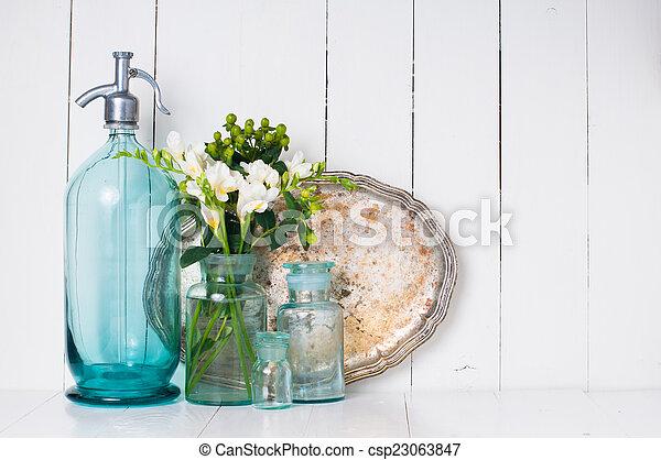 Vintage home decor - csp23063847