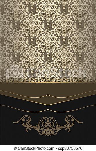 invitation card design background