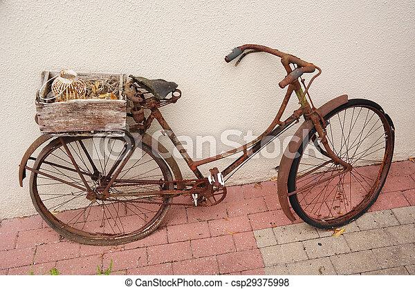 Vintage ladies bike - csp29375998