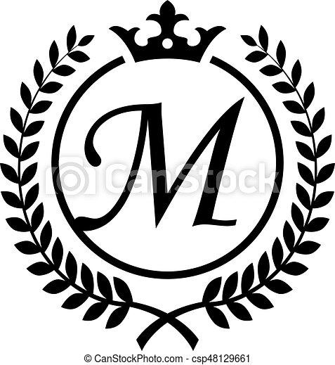 An Amazing Vintage Letter M Symbol